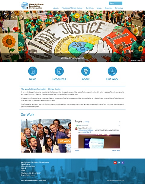 Mary Robinson Foundation – Climate Justice