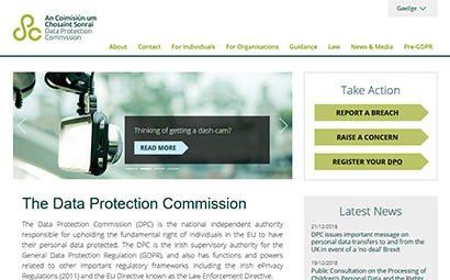 The Data Protection Commission